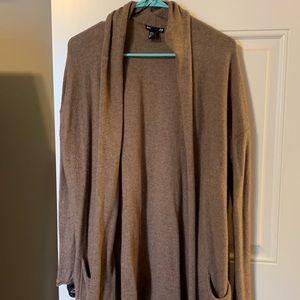 Medium brown H&M cardigan